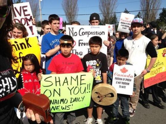 nanaimo protest